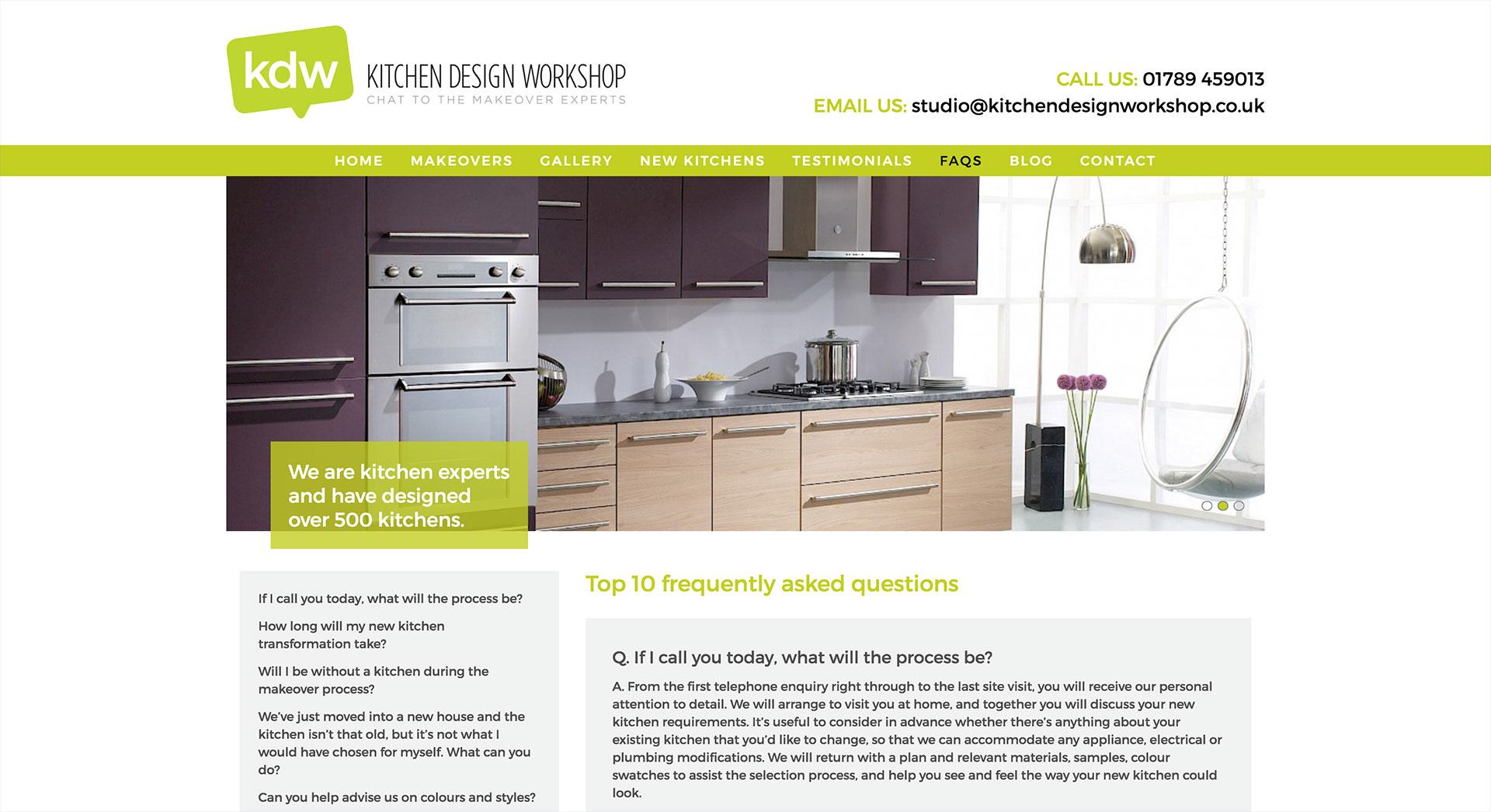 Kitchen Design Workshop   Alex Mercer - Web Design & Web Development ...